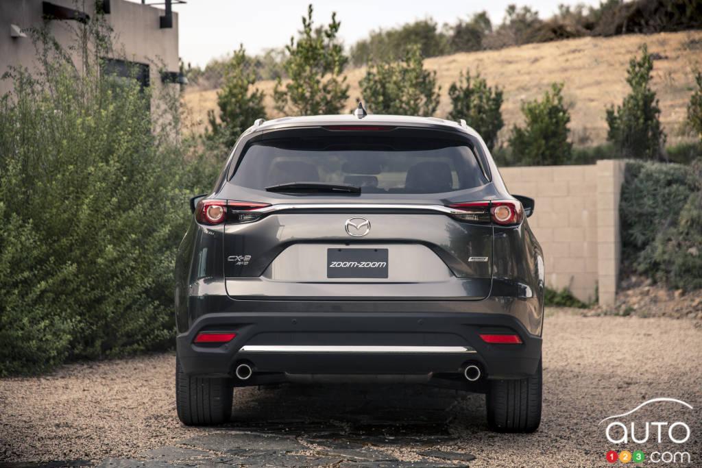 Mazda CX-9 2020, arrière
