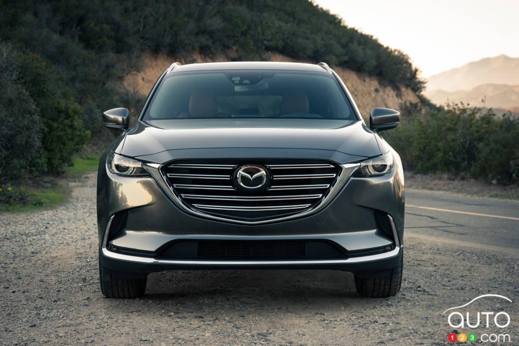 Mazda CX-9 2020, avant