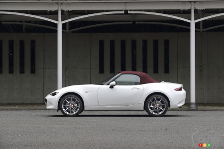 2021 Mazda MX-5 100th Anniversary Edition