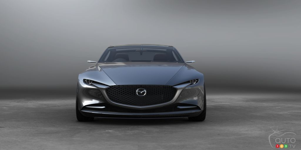 Prototype Mazda Vision Coupe, avant