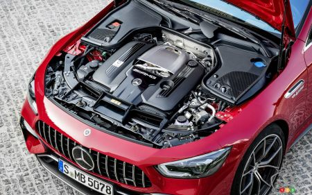 Mercedes-AMG GT 63 S E-Performance, V8 engine