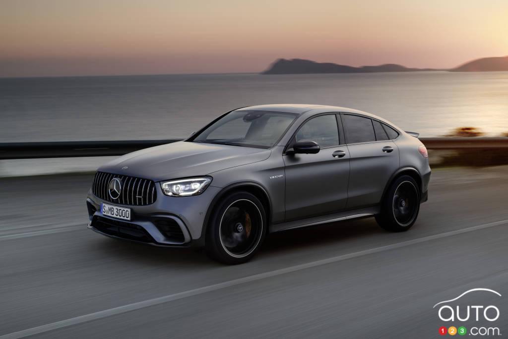 2019 Mercedes Amg Glc 63 S Review Car Reviews Auto123