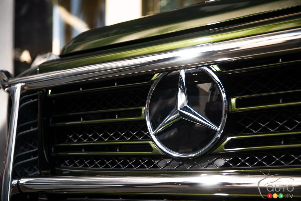 Mercedes-Benz Classe G 550, calandre
