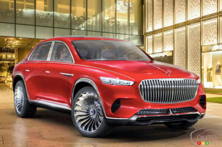 Prototype Vision Mercedes-Maybach Ultimate Luxury