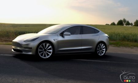 La nouvelle berline Tesla Model 3
