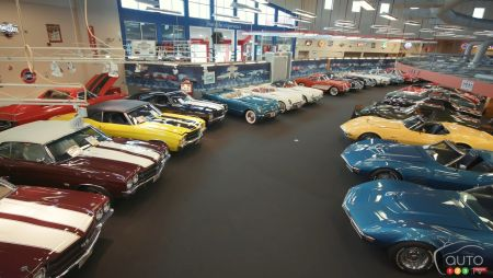 Interior of the Muscle Car City Museum