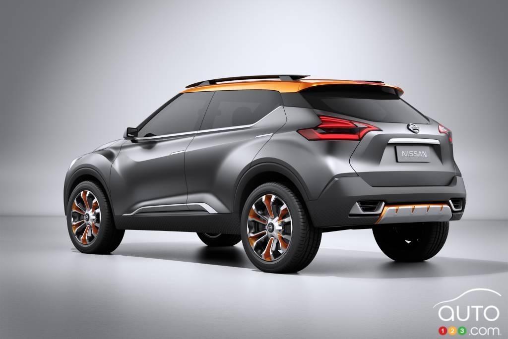 Prototype Nissan Kicks, 2014
