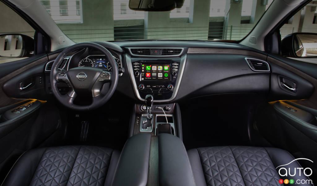 Nissan Murano 2020, intérieur