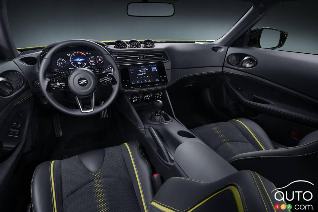 Prototype Nissan 400Z, intérieur