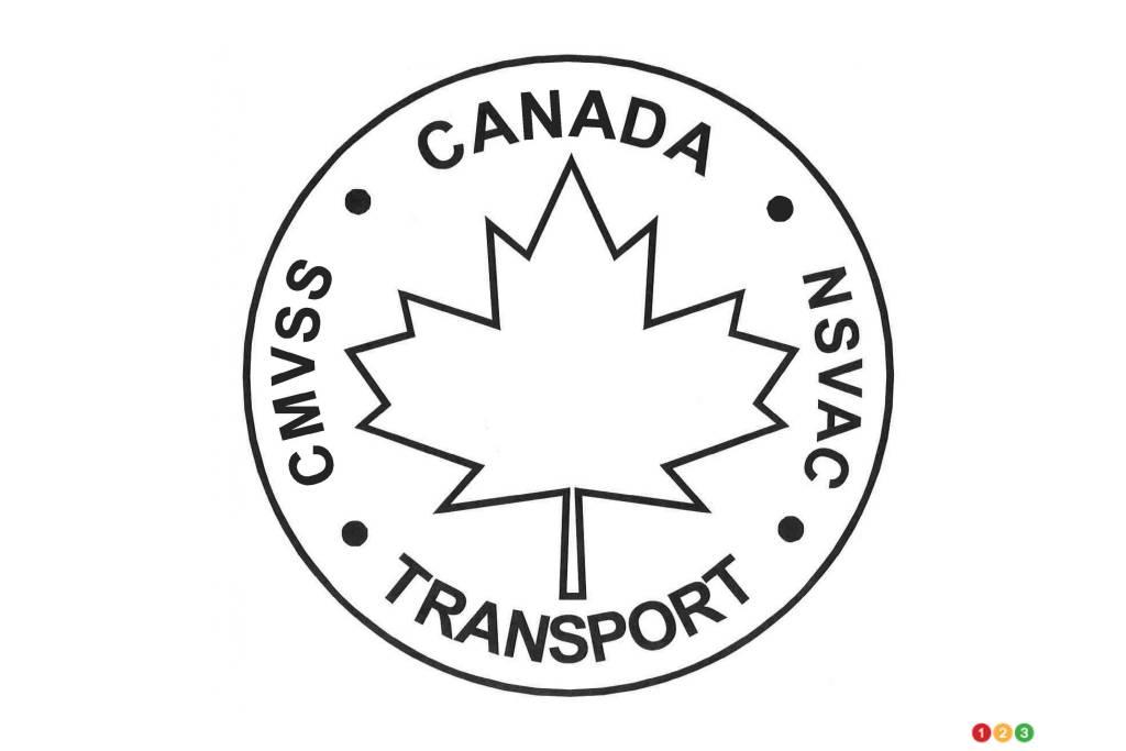 Logo du Règlement fédéral sur la sécurité des véhicules automobiles