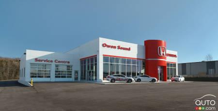 Honda dealer in Owen Sound, Ontario