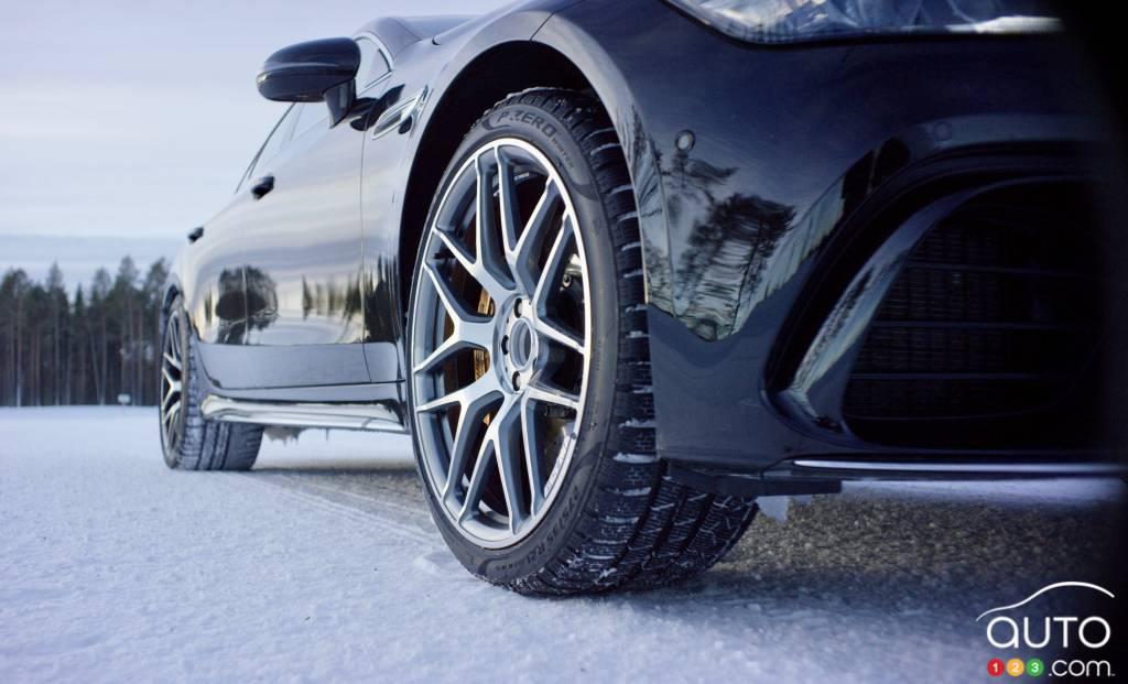 Pneus Pirelli PZero Winter