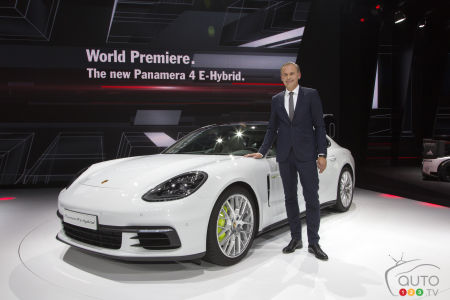 The all-new Porsche Panamera 4 E-Hybrid