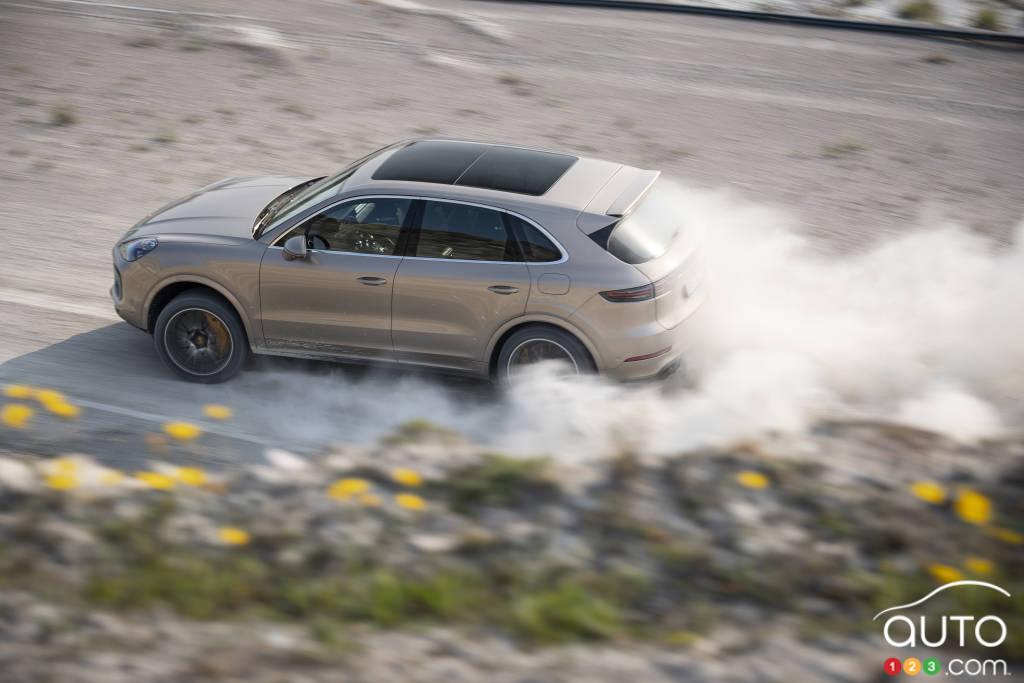 Porsche CayenneTurbo S E-Hybride
