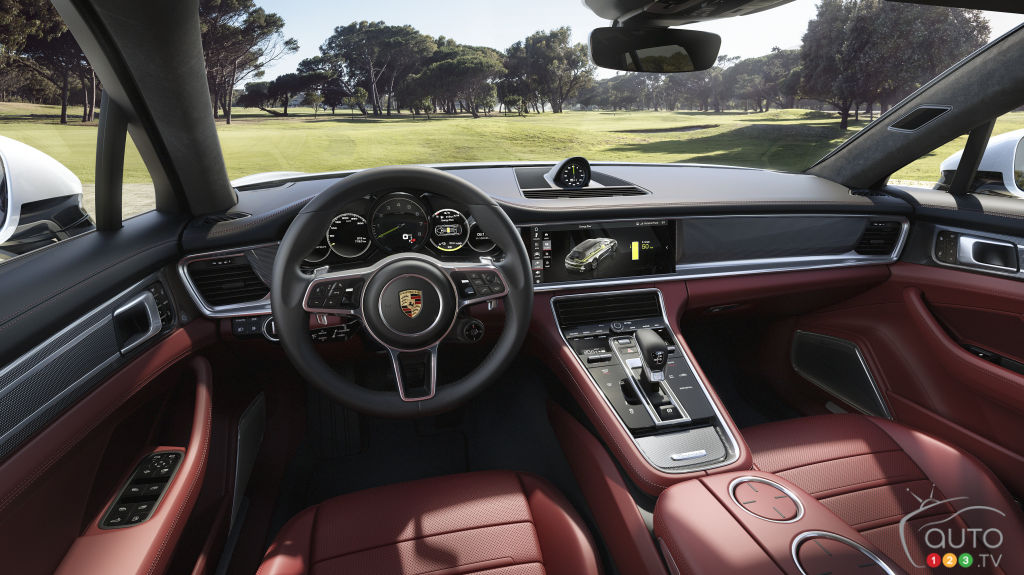 Porsche Panamera 4 e-hybrid Sport Turismo, intérieur