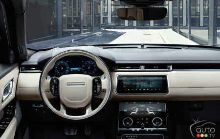 Highly technological yet easy-to-use Velar dashboard