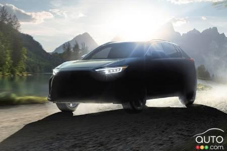 Subaru Solterra, silhouette