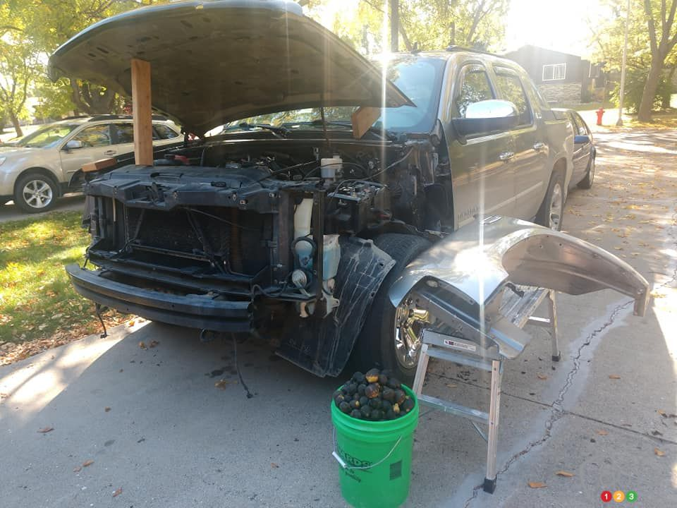 La pauvre Chevrolet Avalanche