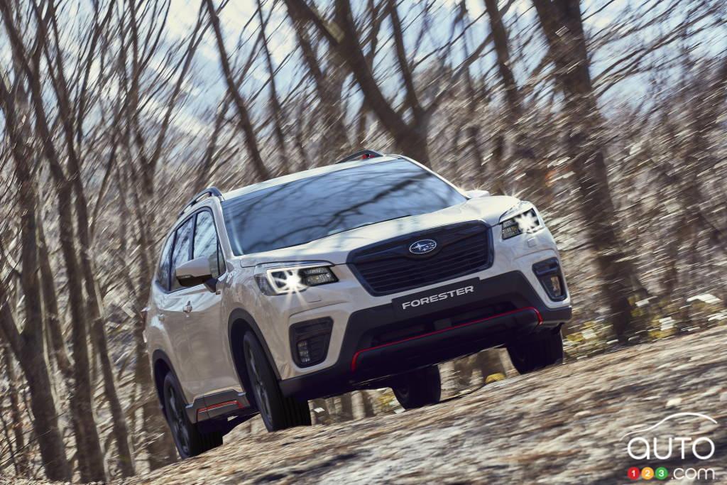 Subaru Forester 2021, avant