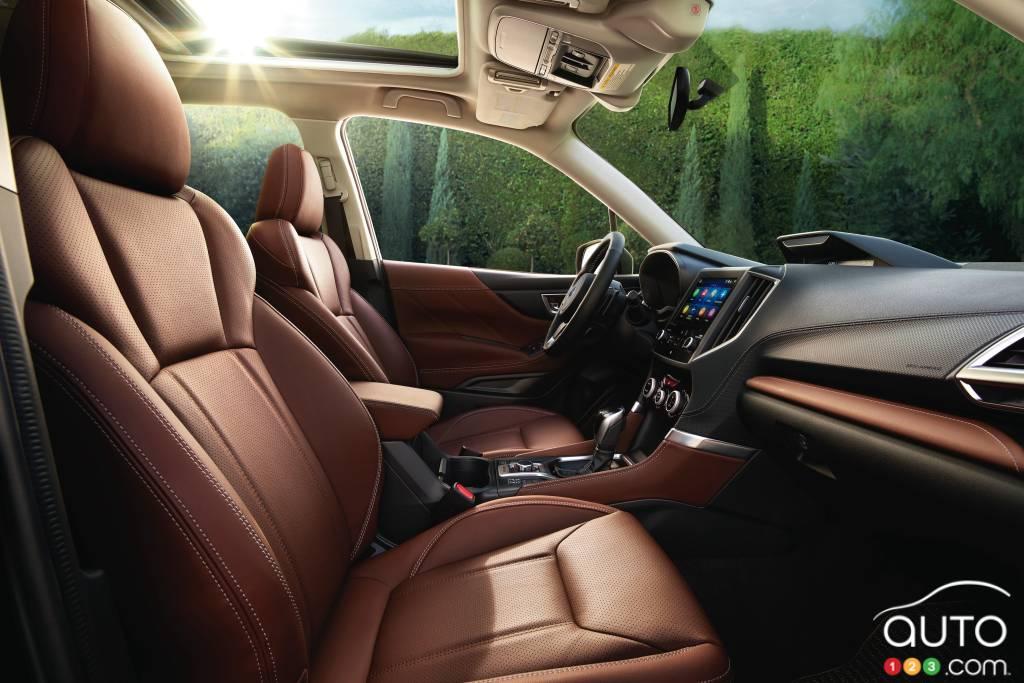 Subaru Forester 2021, intérieur
