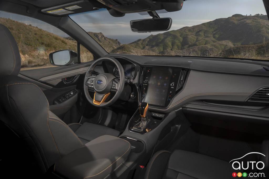 Subaru Outback Wilderness 2022, intérieur
