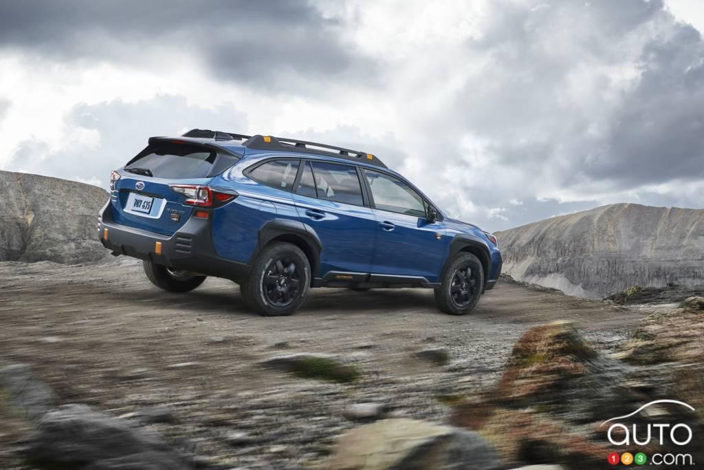 Subaru Outback Wilderness 2022, trois quarts arrière
