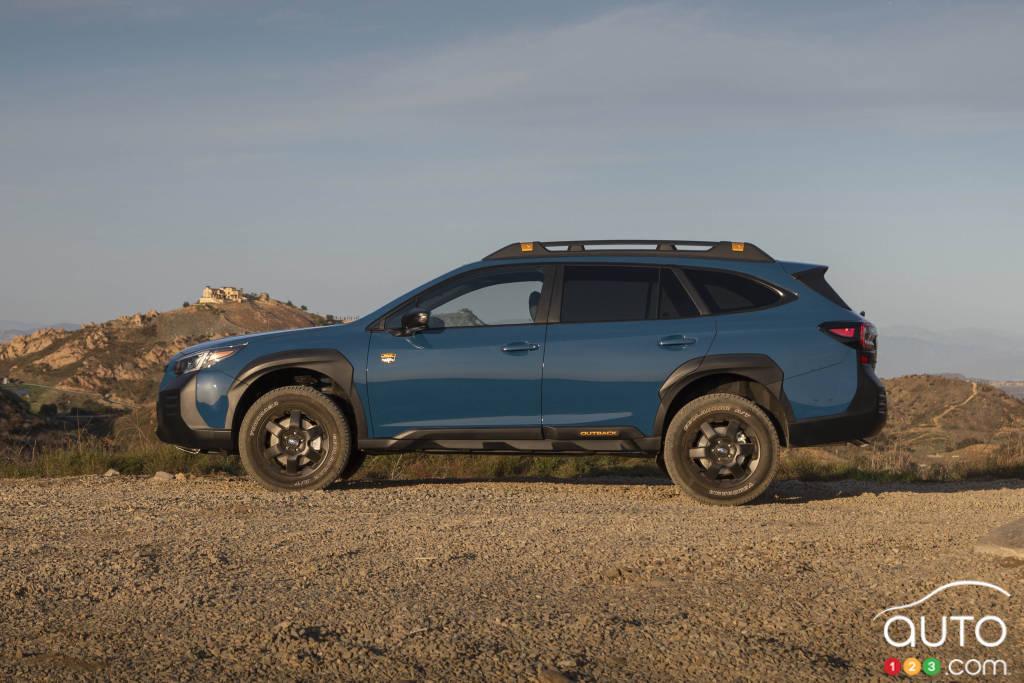Subaru Outback Wilderness 2022, profil