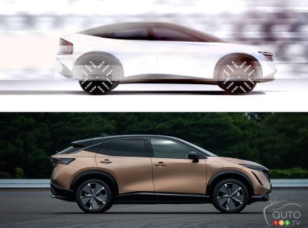 Futur multisegment électrique de Nissan, et le Nissan Ariya