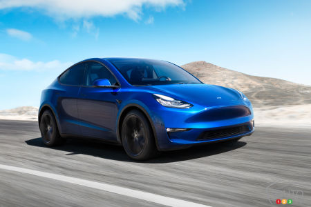 Tesla Unveils The Model Y All Electric Crossover Car News Auto123