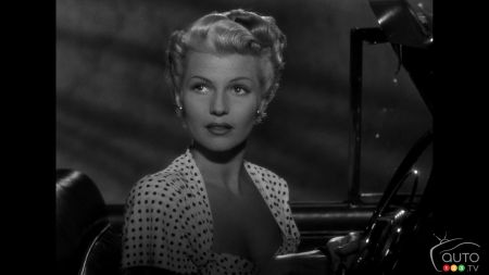 Rita Hayworth, in the film The Lady From Shanghai