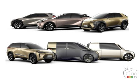 Toyota's six electric vehicle prototypes, fig. 2