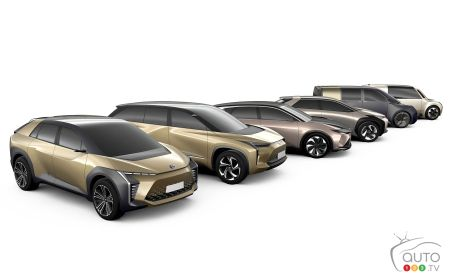 Toyota's six electric vehicle prototypes