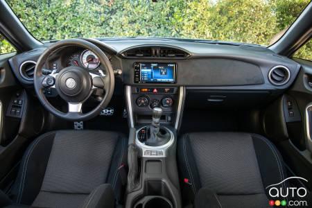 2020 Toyota 86, steering wheel, dash