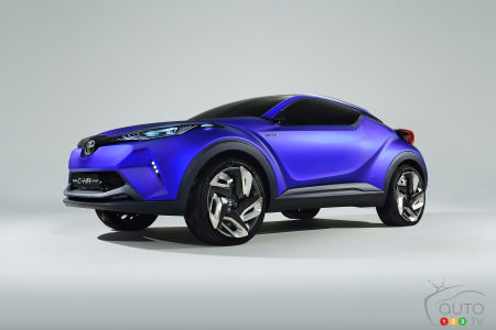 The Toyota C-HR concept, 2014