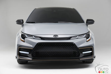 2021 Toyota Corolla Apex Edition, front