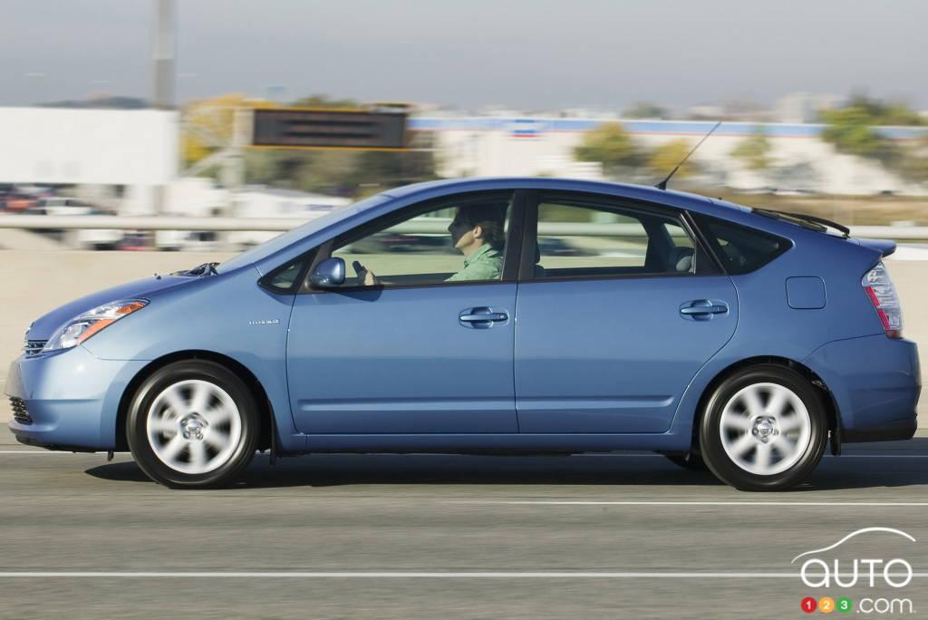 Toyota Prius 2004, profil