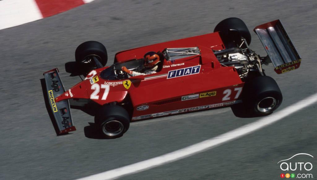 Gilles Villeneuve, sur la piste à Monaco
