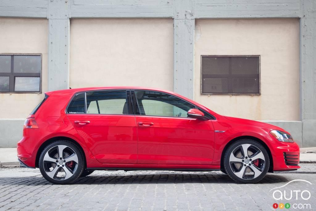 Volkswagen Golf GTI 2015, profil