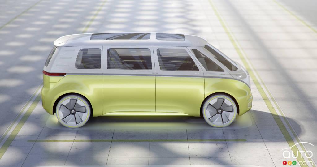 Prototype Volkswagen ID. Buzz, profil