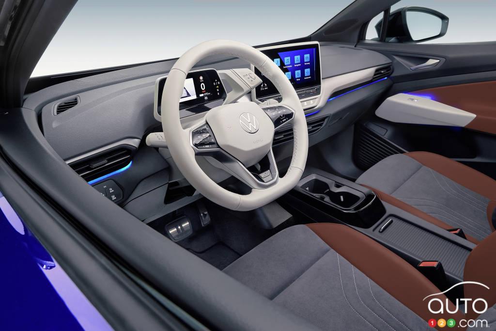 Volkswagen ID.4 2022, intérieur