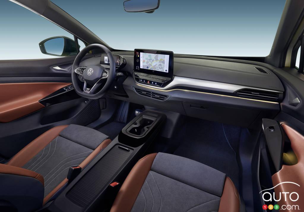 Volkswagen ID.4, intérieur