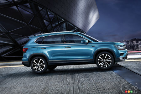 Volkswagen working on sub-Tiguan SUV for North America ...