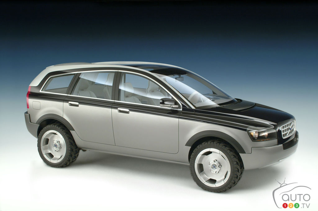 Volvo Adventure Concept Car, 2001