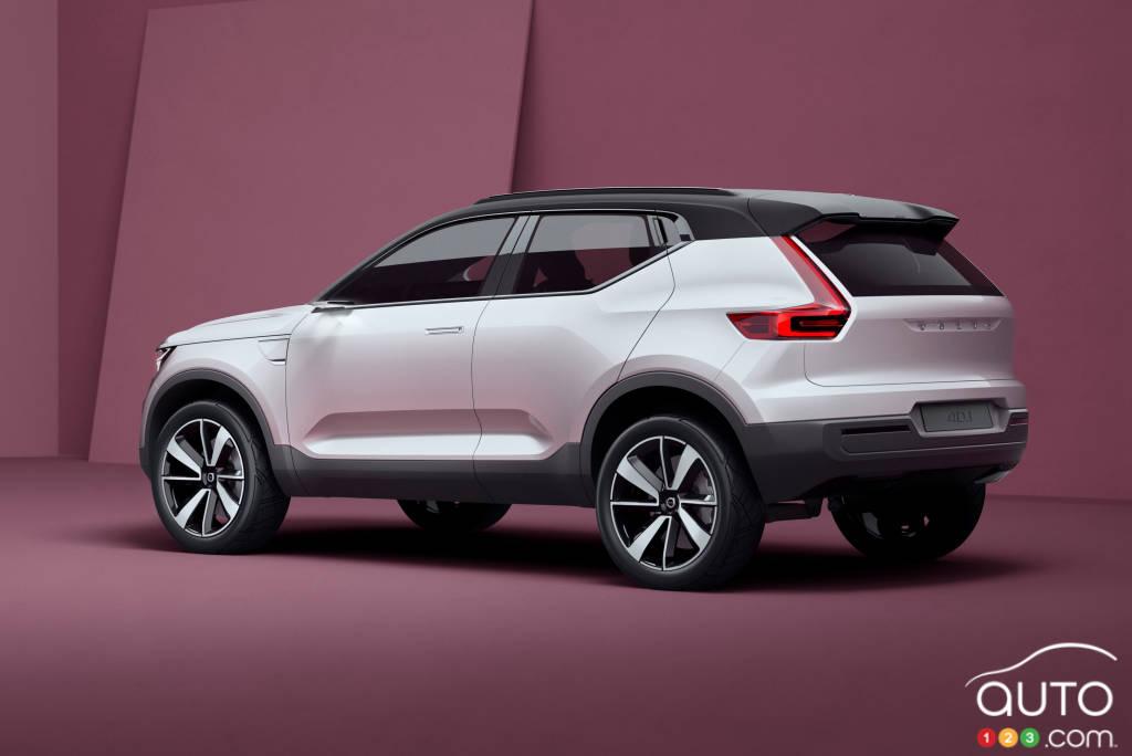 Volvo Concept 40.1, 2016