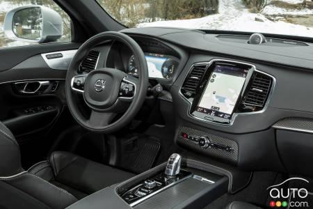 2020 Volvo XC90 T8 R-Design, multimedia system