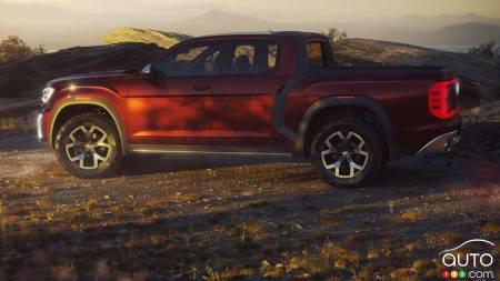 Volkswagen Tanoak Concept