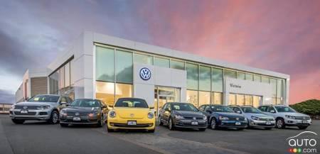 Volkswagen dealer in Victoria, B.C.