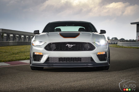 2021 Ford Mustang Mach 1, front