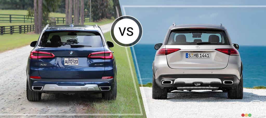Comparison: 2019 BMW X5 vs 2019 Mercedes Benz GLE   Car Reviews