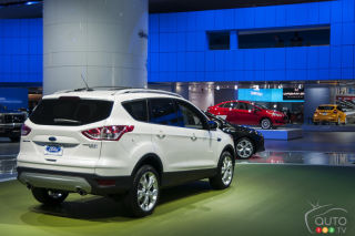2013 Ford Escape video at the Detroit auto show
